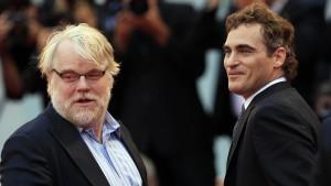 Philip Seymour Hoffman e  Joaquin Phoenix