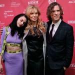 Francis, Courtney Love e il regista Brett Morgen al Sundance