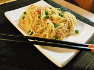 Spaghetti-alla-Cantonese