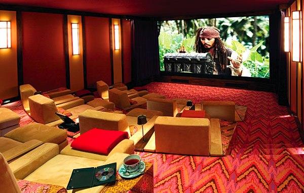 cinema in casa