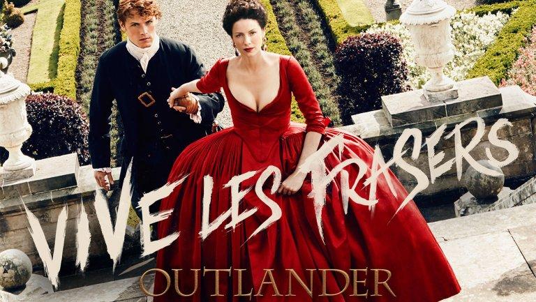 Outlander Staffel 2 Starttermin Trailer und PromoPoster