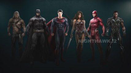 Nieuwe blik op kostuums Justice League