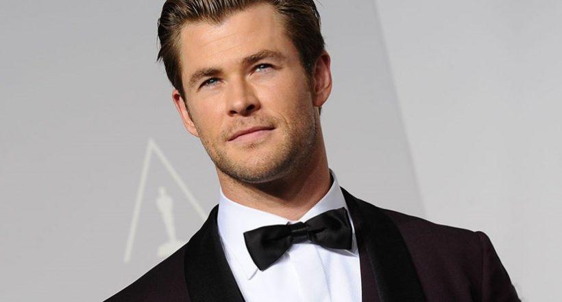 Chris Hemsworth als James Bond