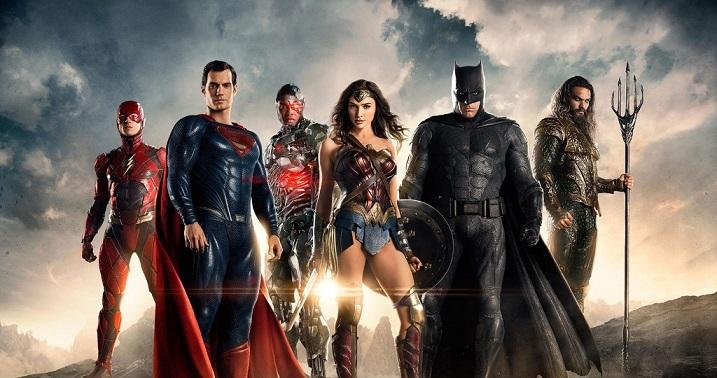 Setvideo van Justice League