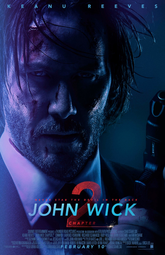 Nieuwe trailer John Wick: Chapter 2