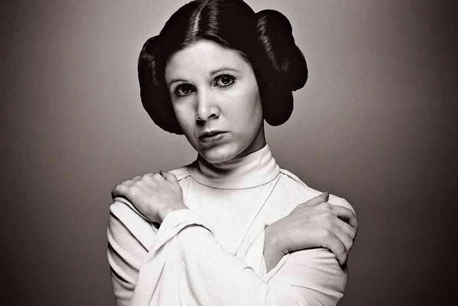 Carrie Fisher digitaal in de Star Wars films?