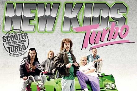 Amerikaanse Colton Hunt kijkt New Kids Nitro trailer