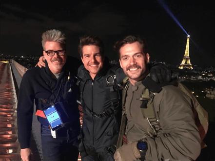 Eerste blik op Henry Cavill in Mission: Impossible 6