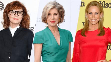 Cheryl Hines, Christine Baranski & Susan Sarandon in A Bad Moms Christmas