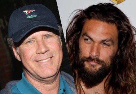 Will Ferrell & Jason Momoa samen in nieuwe komedie