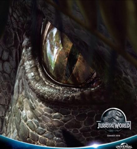 Poster Jurassic World 2 toont Indominus Rex