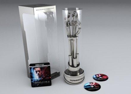 Terminator 2 4K Blu-ray in EndoArm box set