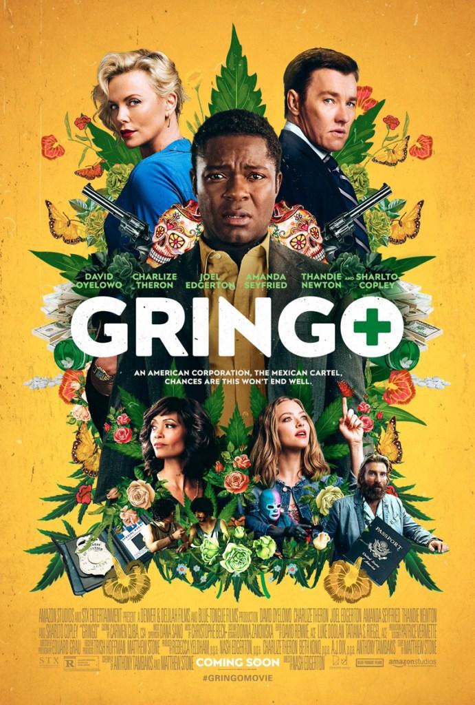 Gringo trailer met Oyelowo, Theron, Edgerton
