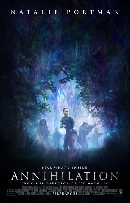 Nieuwe poster Annihilation met Natalie Portman