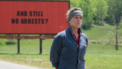 Recensie Three Billboards Outside Ebbing, Missouri
