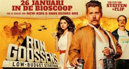 Ron Goossens, Low-Budget Stuntman