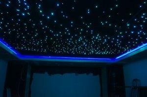 Optiske fiber til stjernehimmel