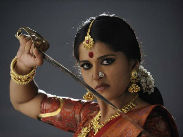 Image result for anushka shetty sword