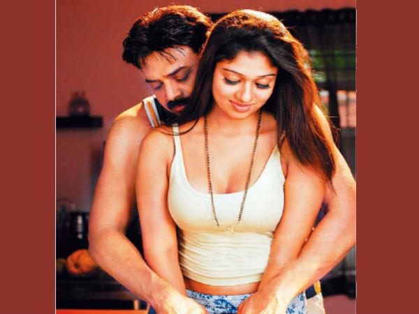 Will Nayantara Romance Venkatesh For Third Time  Filmibeat