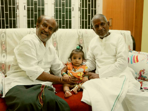 Image result for ilayaraja and rajini