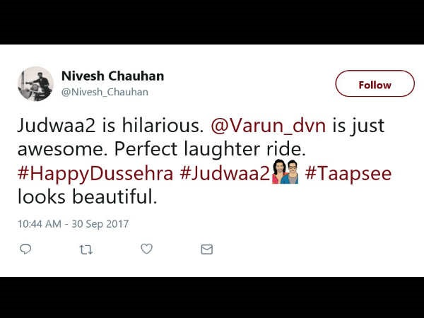 Meanwhile, Here's What The Audience Had To Say After Watching The Film- Nivesh Chauhan @Nivesh_Chauhan