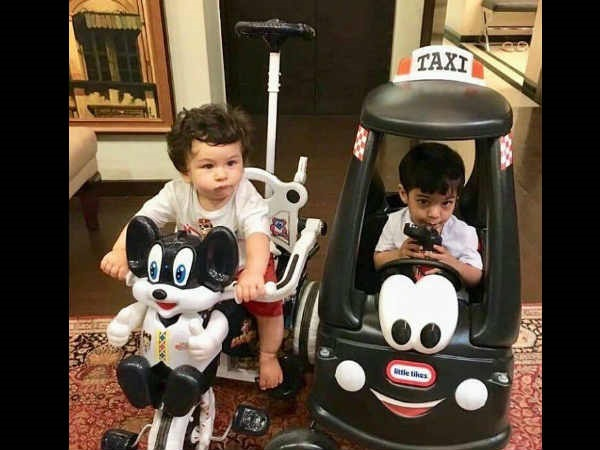 When Saif Found Taimur Like A Drunk Baby
