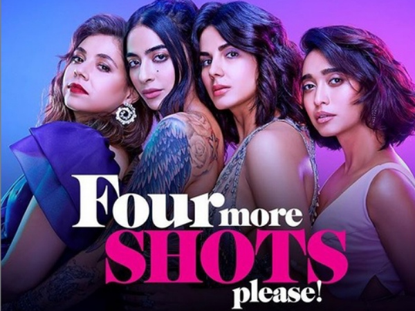 Four More Shots Please Review: It's Bold & Messy But Gets Better With Time; Fans Compare It To VDW! - Filmibeat