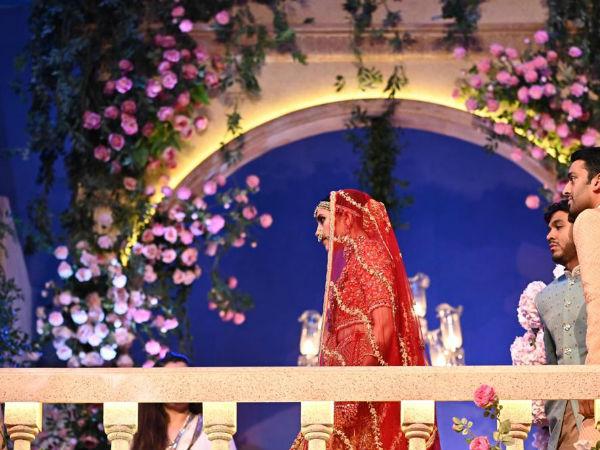 The Bride Looks Divine