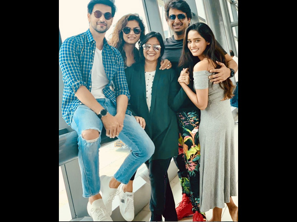 Aditi's Husband Shares Picture