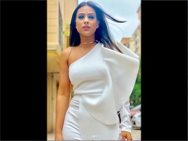 Look #1. Nia Sharma Looks Gorgeous in White