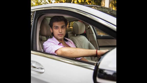 Parth Samthaan's New Car