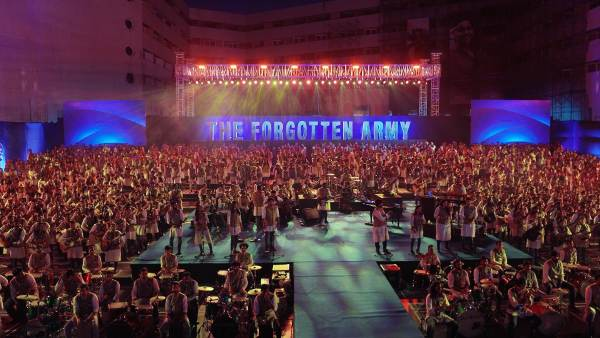 the forgotten army