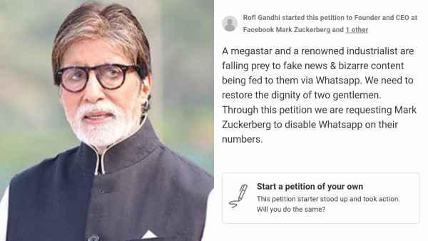 Fans Want Amitabh Bachchan To Disable Whatsapp Account