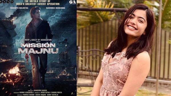 Rashmika Mandanna To Make Her Bollywood Debut Opposite Sidharth Malhotra In Mission Majnu