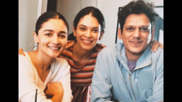 Alia Bhatt And Vijay Verma All Geared Up To Prep For Darlings, Latter Shares A Pic Of The Same