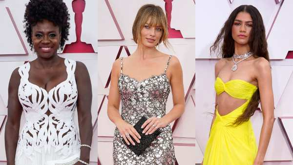Oscars 2021: Viola Davis, Margot Robbie, Zendaya Dazzled In Best Red Carpet Looks For The Night