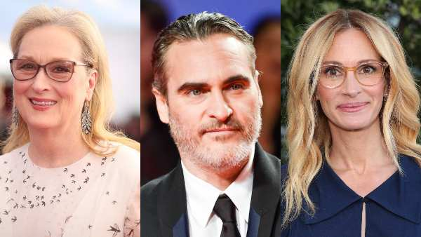 Meryl Streep, Joaquin Phoenix, Julia Roberts