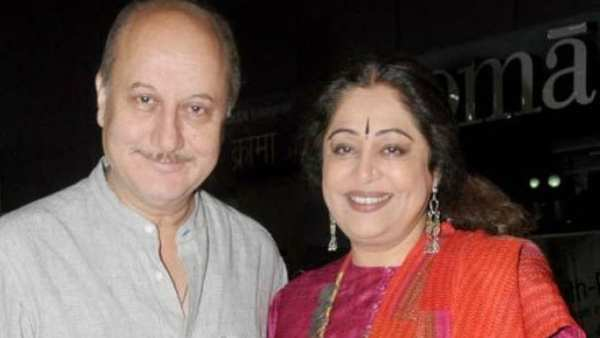 Anupam Kher Reveals Wife Kirron's Health Is Improving, Says 'She Is Holding Up Fine'