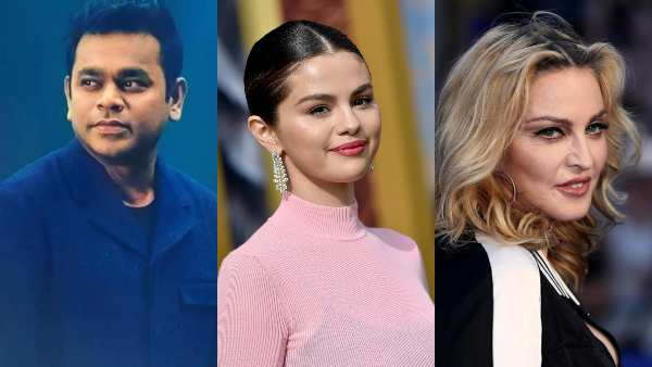 AR Rahman, Selena gomez, Madonna