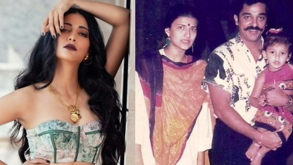 Shruti Haasan Is Glad That Her Parents Separated; 'They Were Happier Apart Than They Were Together'