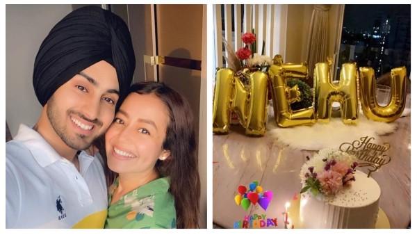Rohanpreet Singh Wishes Neha Kakkar On Her Birthday With A Romantic Note; Shares Midnight Celebration Photo