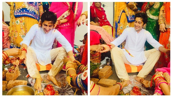 Pandya Store Fame Akshay Kharodia Shares Pictures From His Haldi Ceremony On His Social Media television news