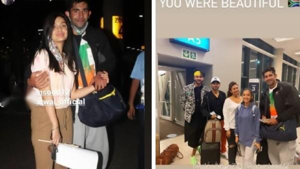 Celebs Return To Mumbai