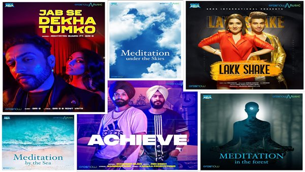 Eros Now Music Plans Mega Launch Of Over 100 Singles In Next Six Months