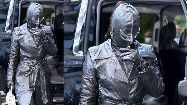 Balenciaga लेदर सूट में नज़र आईं Kim Kardashian;  तूफान से सोशल मीडिया लेता है