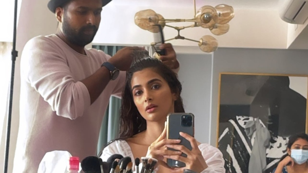 Pooja Hegde Shares A Cute Video From Her Make Up Room, Looks Super Hot With Wet Hair!