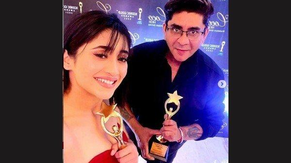 Shivangi Joshi & Rajan Shahi