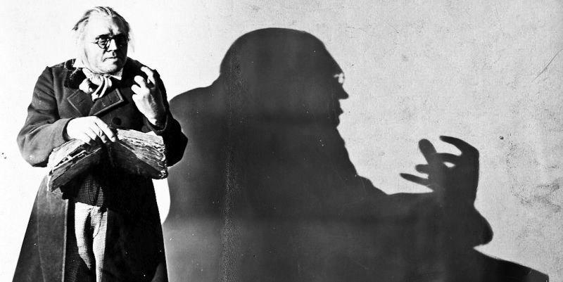 Image result for the cabinet of dr. caligari shadows