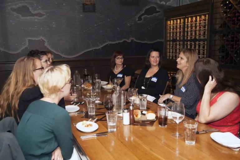 Dinner With Dames: Dinner #3, With Elvia Van Es (Recap)