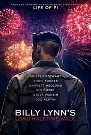 Movies Opening In Cinemas On November 11 - Billy Lynn's Long Halftime Walk